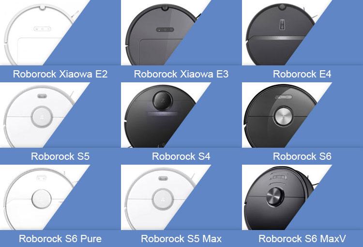 роботы-пылесосы Roborock