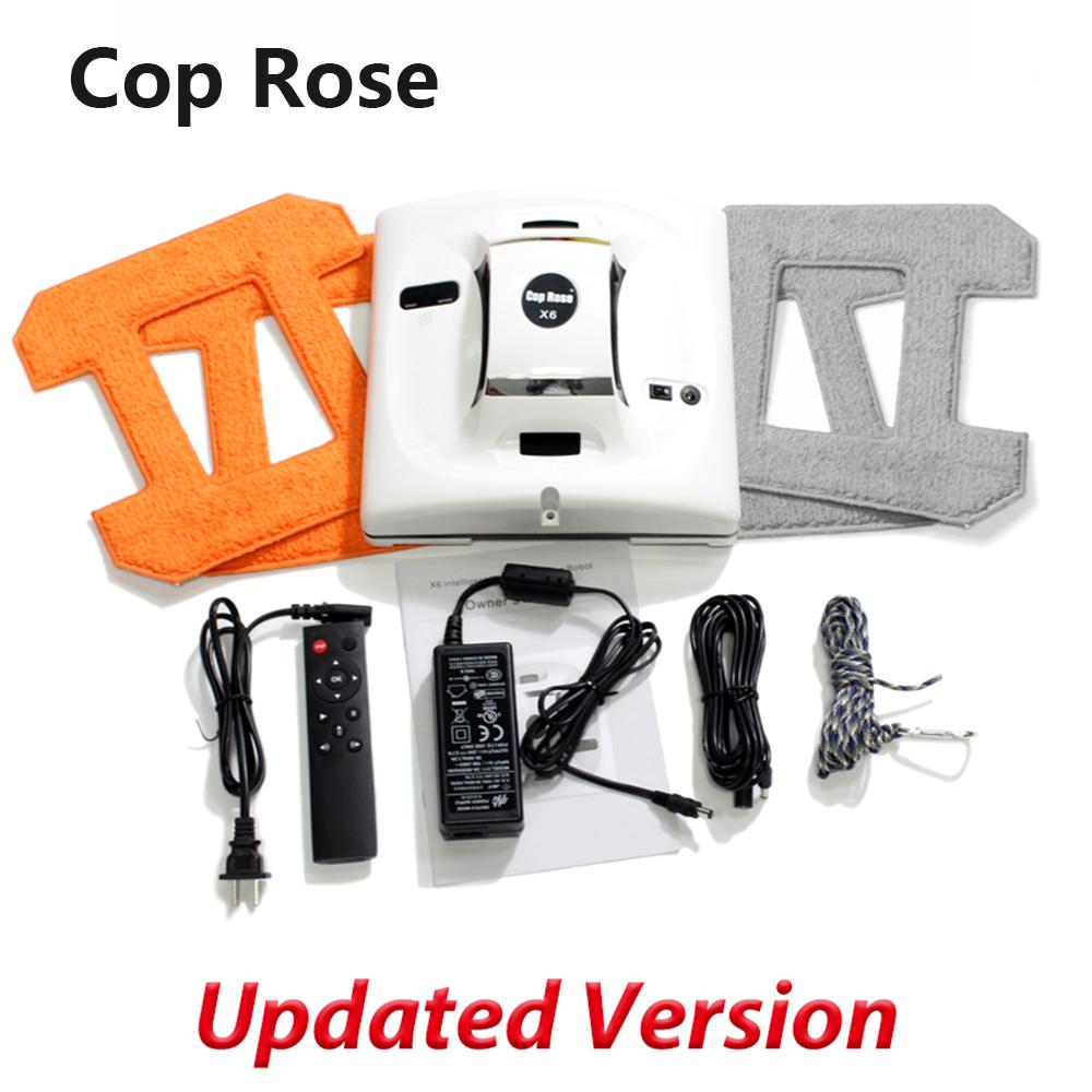 COP ROSE X6 Автоматический робот для очистки окон, интеллектуальная шайба, пульт дистанционного управления, анти-падение UPS, алгоритм, инструмен...