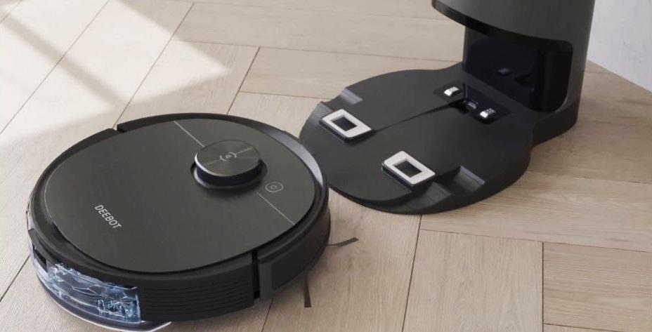Ecovacs Deebot Ozmo T8 AIVI с базой самоочистки