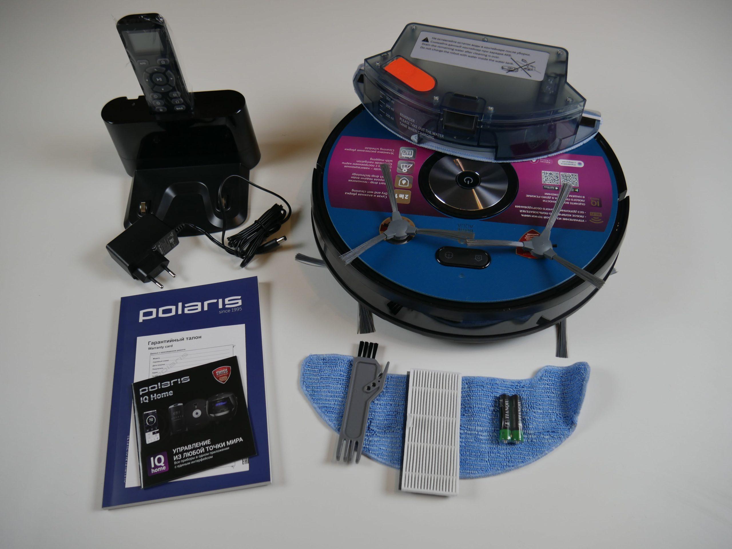 Polaris PVCR 3200 IQ Home Aqua комплектация